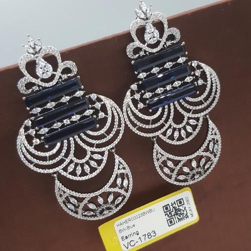 BW Blue Ad Earrings
