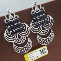 BW Blue Ad Earrings