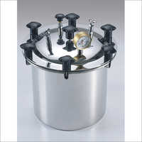 12x12 inch Dia Deep Seamless Autoclave