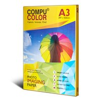 COMPU COLOR  Glossy Photo Imaging Paper 270 Gsm (A3 Size) 50 Sheets