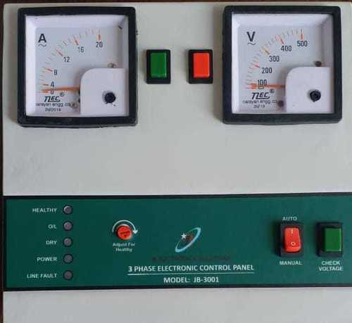 3 Phase Controller For Motor Pump
