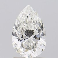Pear Shape Diamond 1.15ct H VS1 Lab Grown IGI Certified Stone 451054616