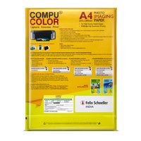 COMPU COLOR Glossy Photo Imaging Paper Sheet