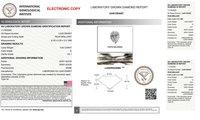0.83ct G VS1 Pear Shape Diamond
