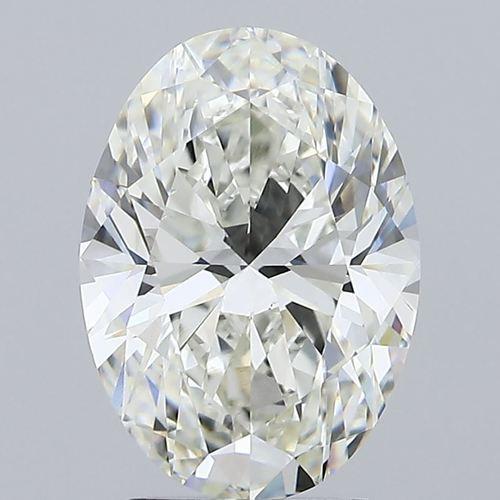 2.70ct H VS1 CVD IGI Oval Brilliant Cut Diamond