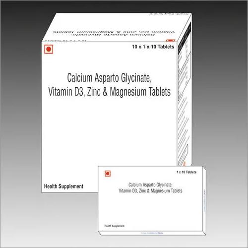 Calcium asparto glycinate