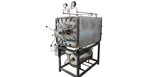 Rectangular High Pressure Steam Sterilizer (Sis 2020r) 190ltr