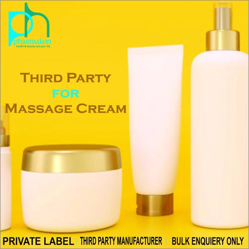 Massage Cream Private Label For Cosmetics
