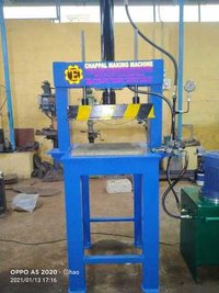 Hawaai Chappal Sole Cutting Machine