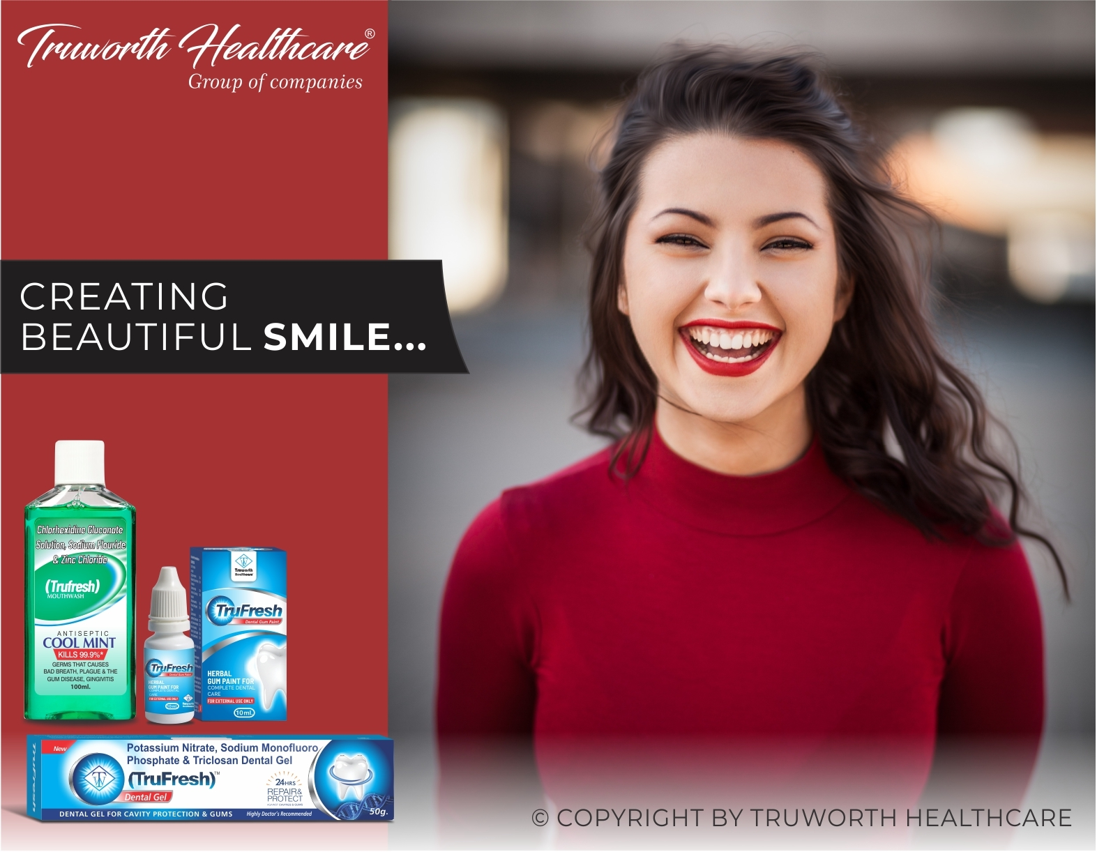 Truworth Trufresh Dental Gum Paint