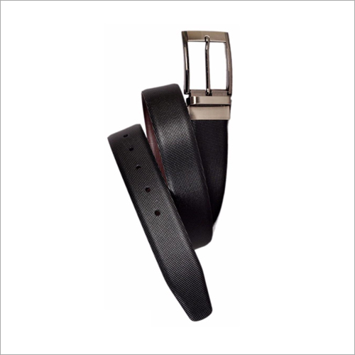 Black PU Leather Belt