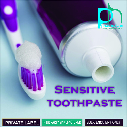 Sensitive Toothpaste For Third Party Cosmetics
