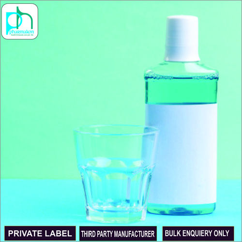 Herbal Mouthwash Private Label For Cosmetics