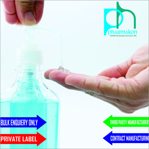 Hand Sanitizer Contract Manufacturing For Cosmetics