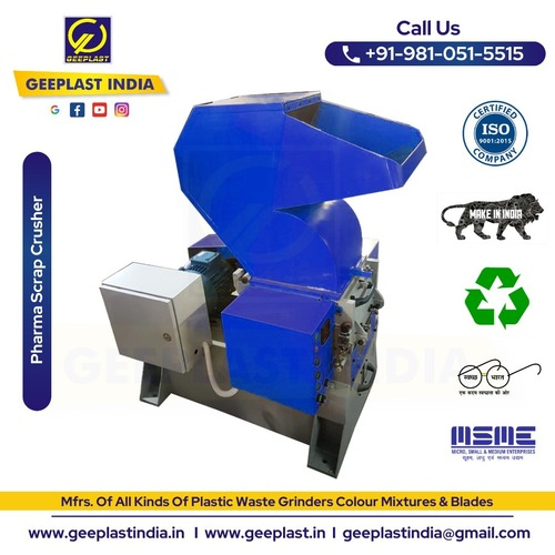 Pharma Scrap & Waste Cutting Machine