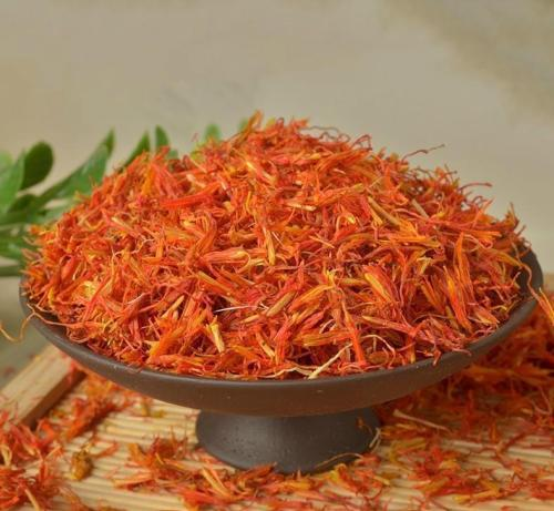 Hong Hua Pure Natural Dried Safflower with Tiller Yellow Red Flower