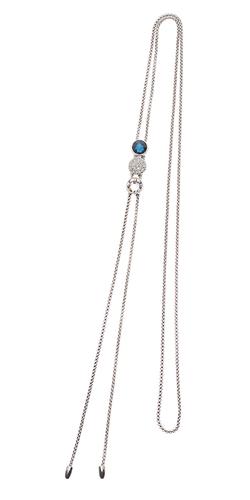 Adjustable triple slide necklace