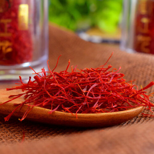 Natural dried Saffron stigma from Crocus sativus L for herbal