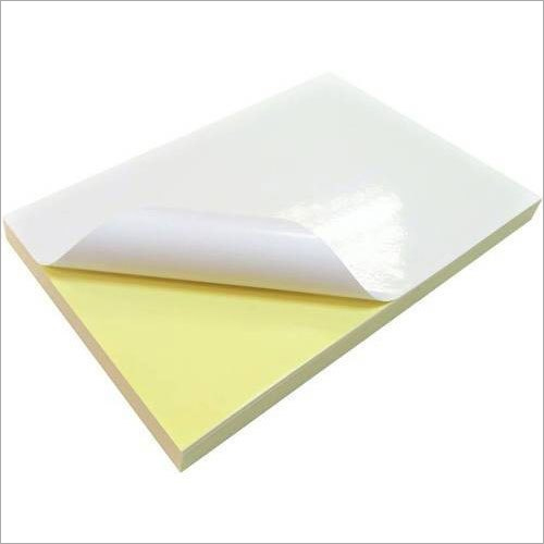 Self Adhesive Chromo Gum Sheet