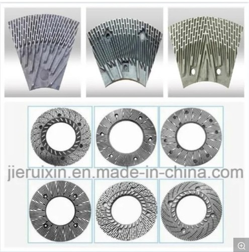 Double Disc Refiner Plate For Pulping Paper Machine
