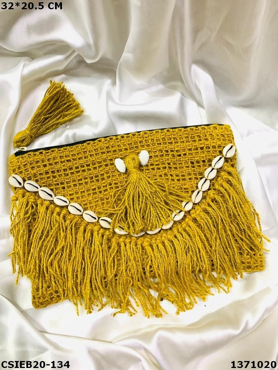 Designer Cotton Weaving Pouch Bag