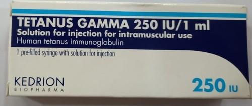 Tetanus Gamma 250 Iu