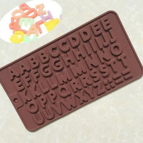 Silicone Alphabetical Chocolate Mould