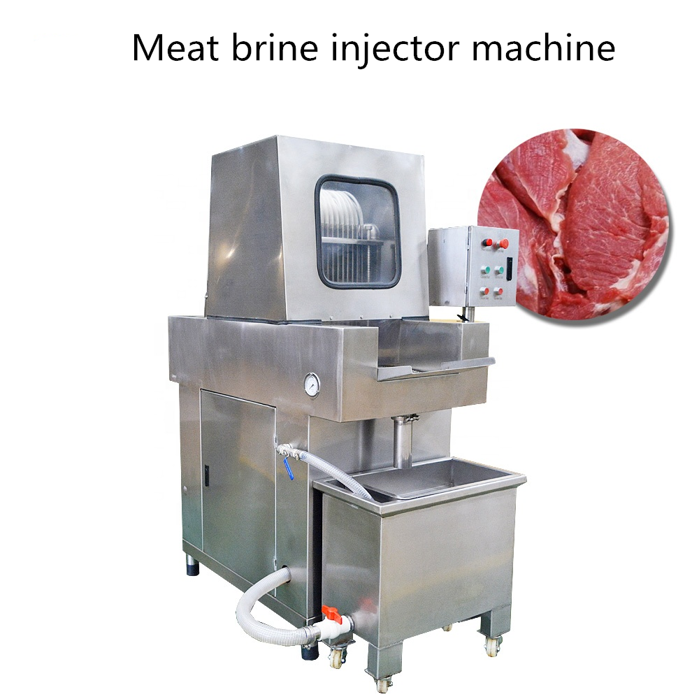 Automatic fish Meat Chicken Beef Marinade Brine Injector Machine