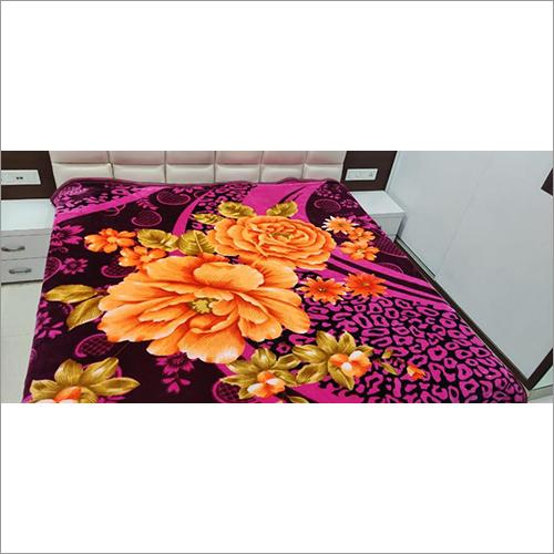 Polar Floral Printed Blanket
