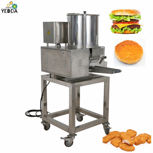 YD-2000 Automatic  Burger Patty Chicken Nugget Forming  Machine