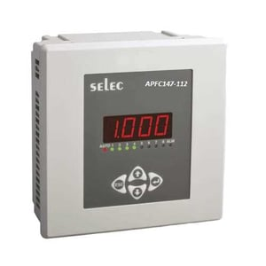 APFC147-108-90/550V SELEC Automatic Power Factor Controller With 8 Relay
