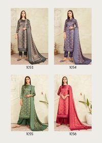Colours Tusser Silk Salwar Kameez Set