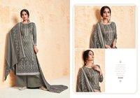 Ruhi Pashmina Dyed Mirror Work Suits