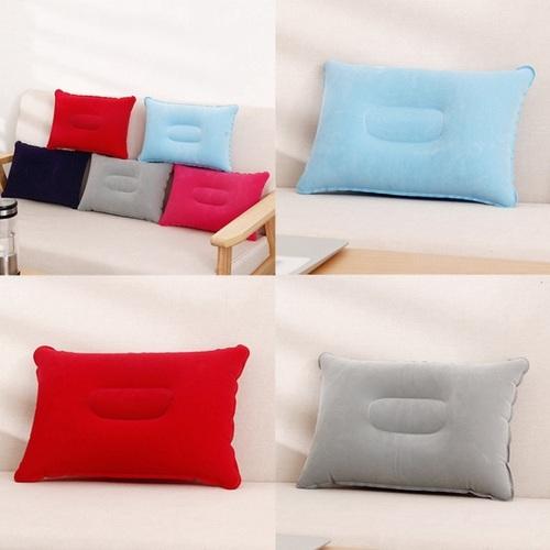 Inflatable Air Pillow (Random Color)