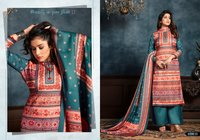 Roma Woollen Pashmina Printed Suits