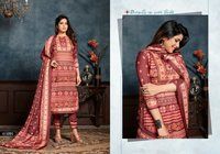 Roma Woollen Pashmina Printed Suits