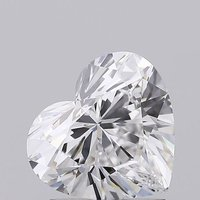Heart Shape Diamond 1.51ct D VS1