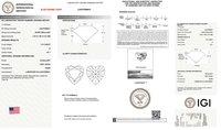 Heart Shape Diamond 1.51ct D VS1