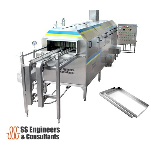 Conveyor Tray Washer