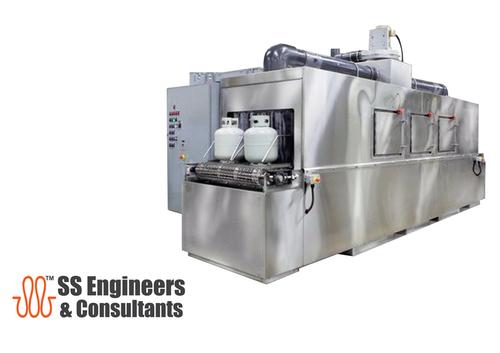 Conveyor Washers For Propane Tanks