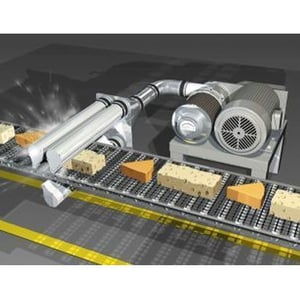 Air Knife Drying System