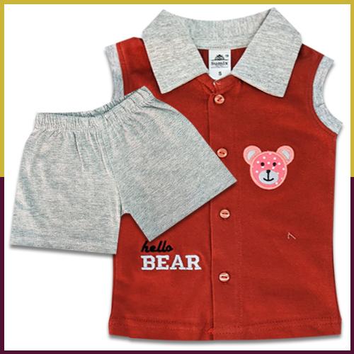 Sumix Skw 0157 Baby Boy Shirt