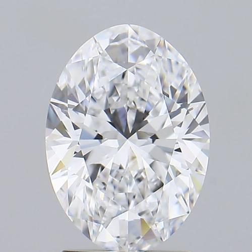Oval Brilliant Cut 2ct D VVS2 HPHT IGI Certified Lab Grown Diamond TYPE2 450044794