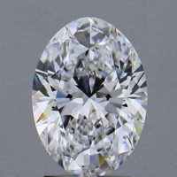 Oval Brilliant Cut 2ct D VVS2 HPHT IGI Certified Lab Grown Diamond TYPE2 450044794