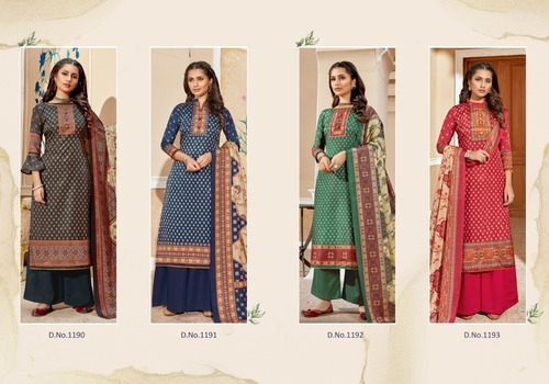 Hayat Tusser Silk Salwar Suits
