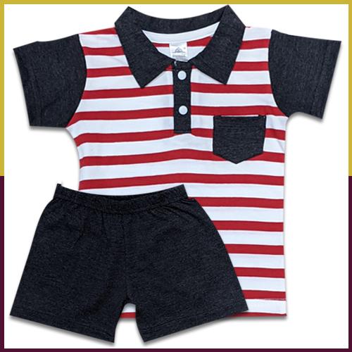Sumix Kashi Baby Boy T-shirts And Shorts