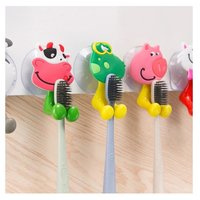 Cute Cartoon Animal Suction Toothbrush Holder