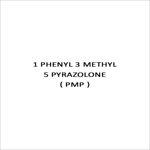 1 Phenyl 3 Methyl 5 Pyrazolone ( Pmp )