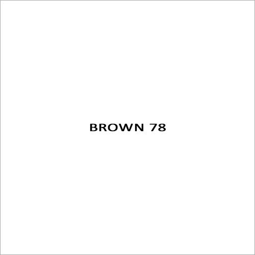 Brown 78