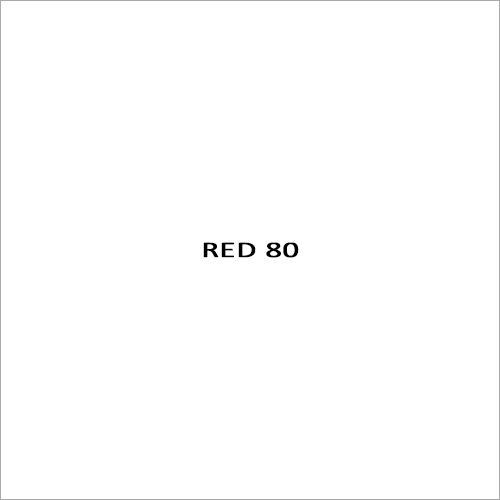 Red 80